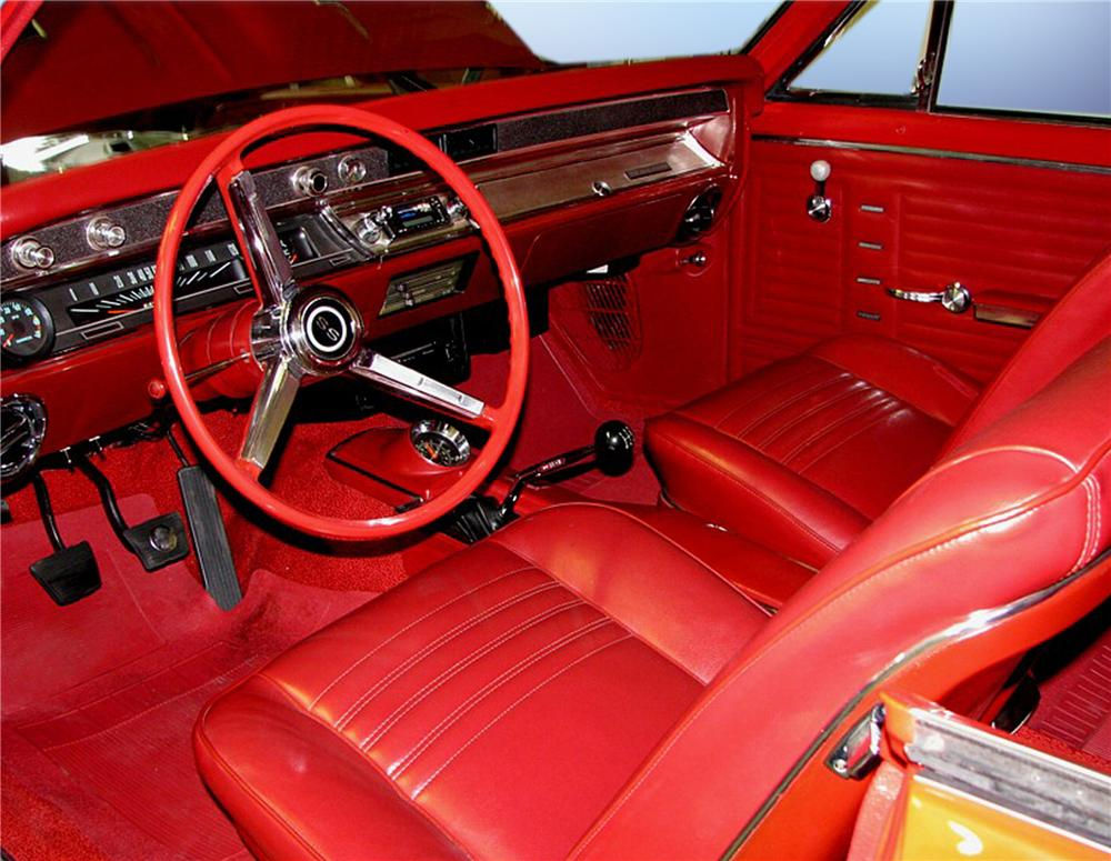 1967 CHEVROLET CHEVELLE SS 2 DOOR PRO-TOURING COUPE - Interior - 79209