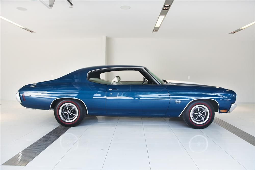1970 CHEVROLET CHEVELLE SS 396 SPORT COUPE - Side Profile - 79212