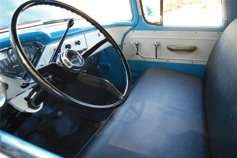 1957 CHEVROLET 3100 STEP-SIDE PICKUP - Interior - 79214