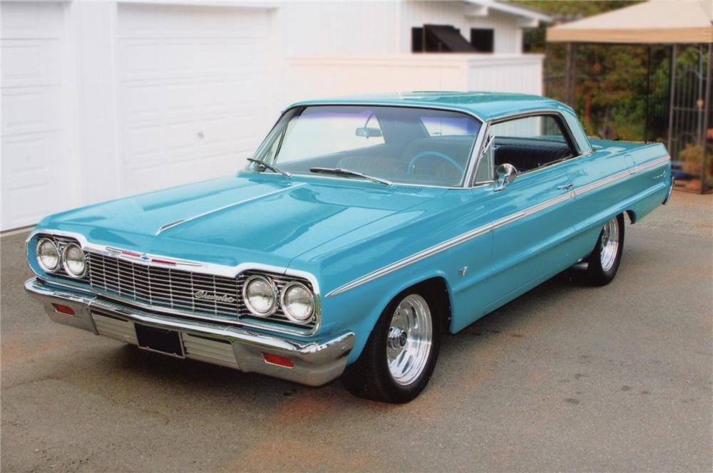 1964 CHEVROLET IMPALA SS 2 DOOR COUPE - Front 3/4 - 79215