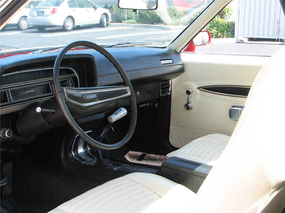 1970 FORD RANCHERO 500 PICKUP - Interior - 79231