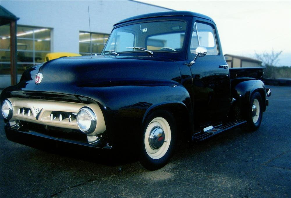 1953 FORD F-100 PICKUP - Front 3/4 - 79235