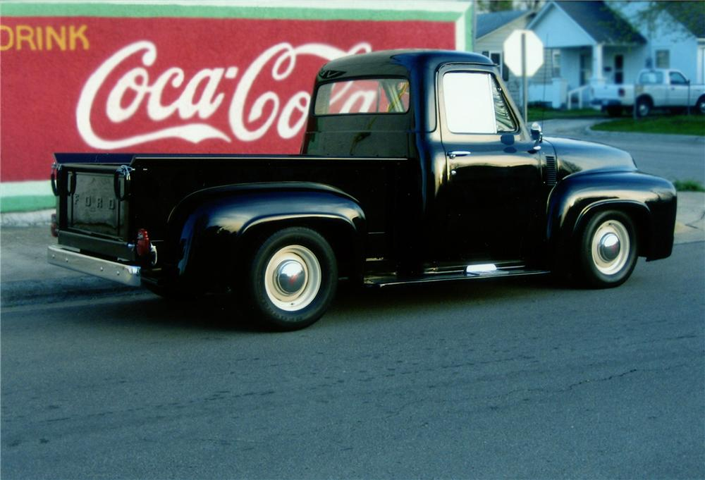 1953 FORD F-100 PICKUP - Rear 3/4 - 79235