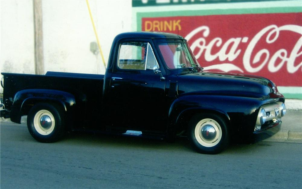 1953 FORD F-100 PICKUP - Side Profile - 79235