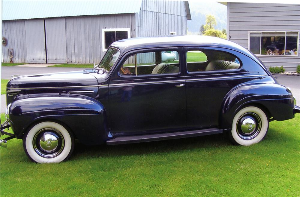 1940 PLYMOUTH DELUXE 2 DOOR SEDAN - 79238