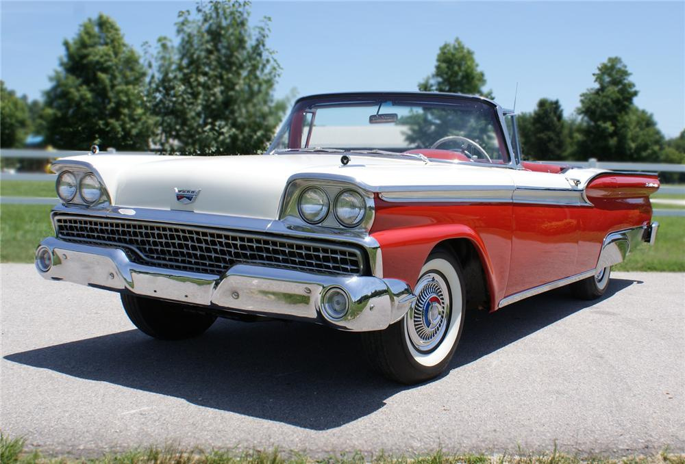 1959 FORD FAIRLANE RETRACTABLE HARDTOP - Front 3/4 - 79243