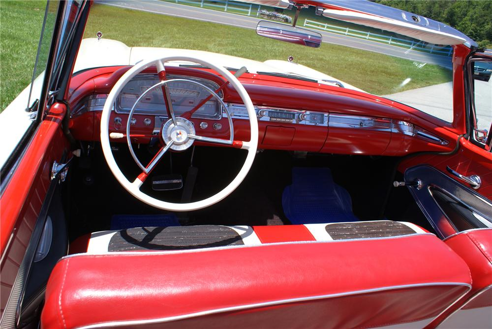1959 FORD FAIRLANE RETRACTABLE HARDTOP - Interior - 79243