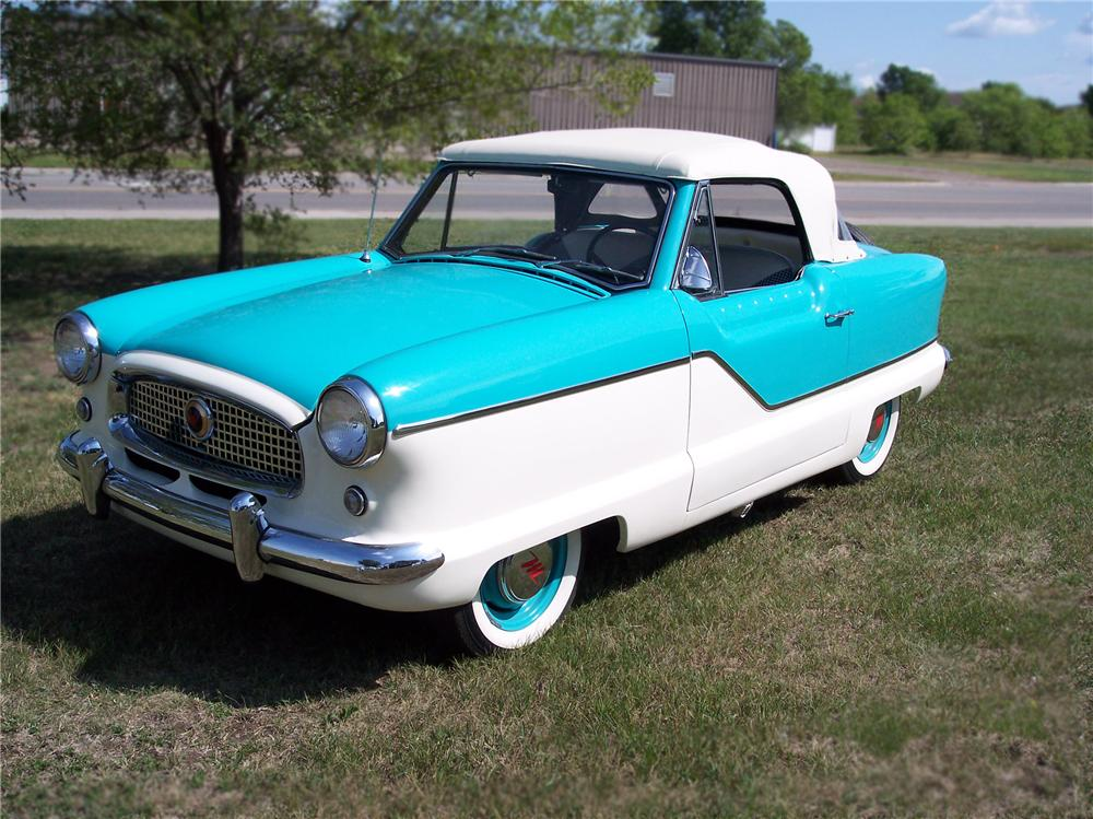 1960 NASH METROPOLITAN 2 DOOR CONVERTIBLE - Front 3/4 - 79248