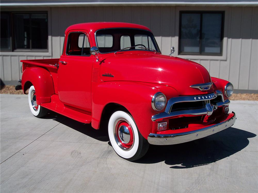 1954 CHEVROLET 3100 PICKUP - Front 3/4 - 79249