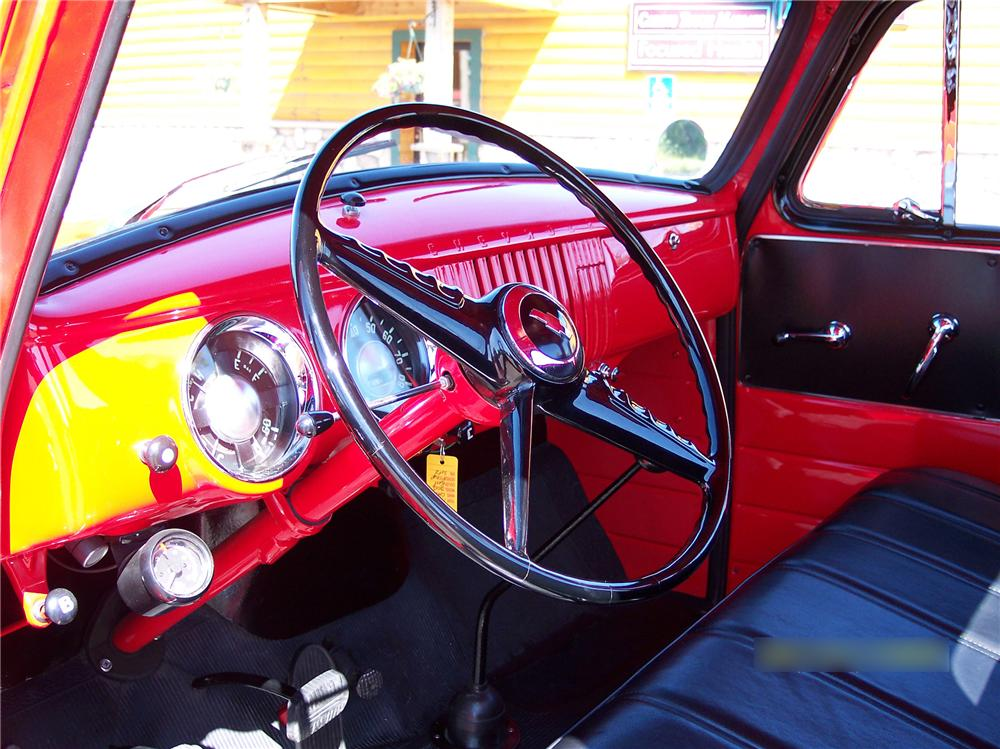 1954 CHEVROLET 3100 PICKUP - Interior - 79249