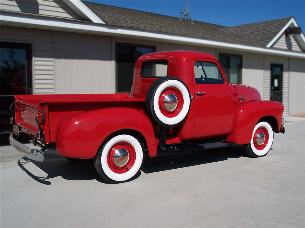 1949 CHEVROLET 3100 PICKUP - Rear 3/4 - 79250