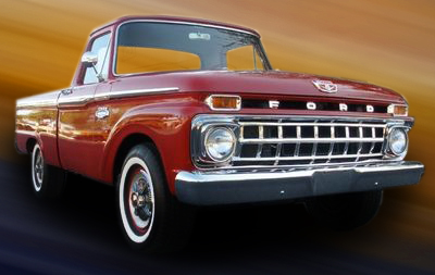 1965 FORD F-100 PICKUP - Front 3/4 - 79255