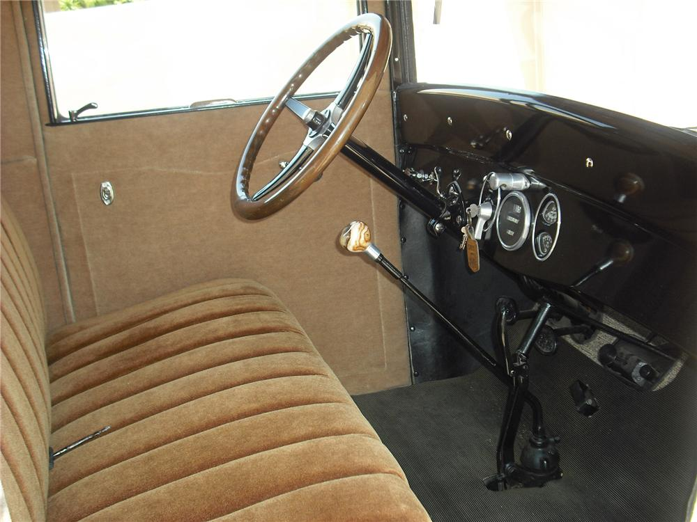 1926 CHEVROLET LANDAU SERIES V COUPE - Interior - 79256