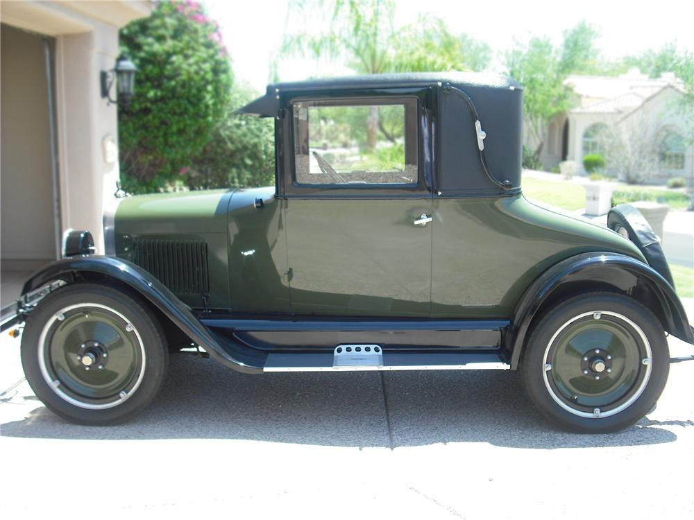 1926 CHEVROLET LANDAU SERIES V COUPE - Side Profile - 79256