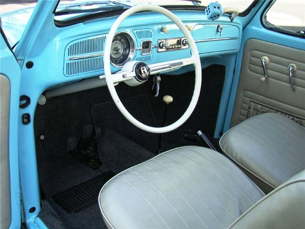 1965 VOLKSWAGEN BEETLE 2 DOOR COUPE - Interior - 79258