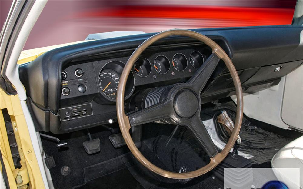 1970 PLYMOUTH CUDA COUPE RESTO-MOD - Interior - 79265