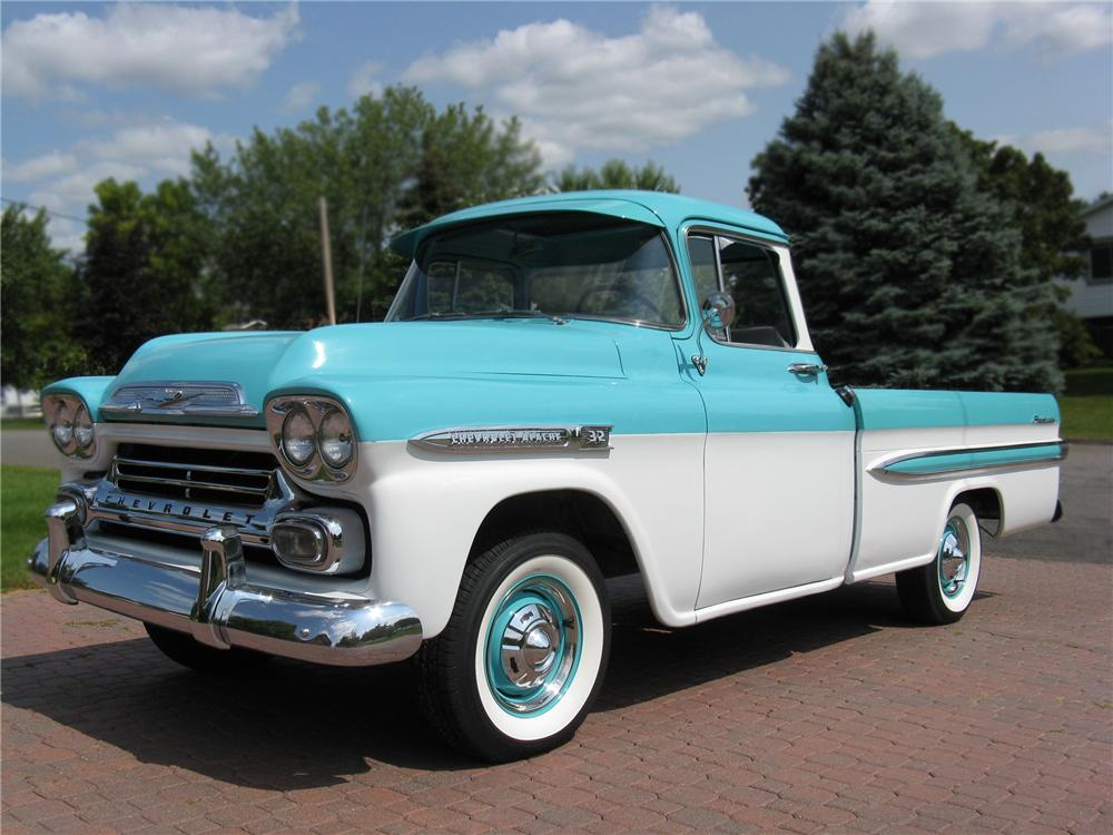 1959 CHEVROLET APACHE FLEETSIDE PICKUP - 79266