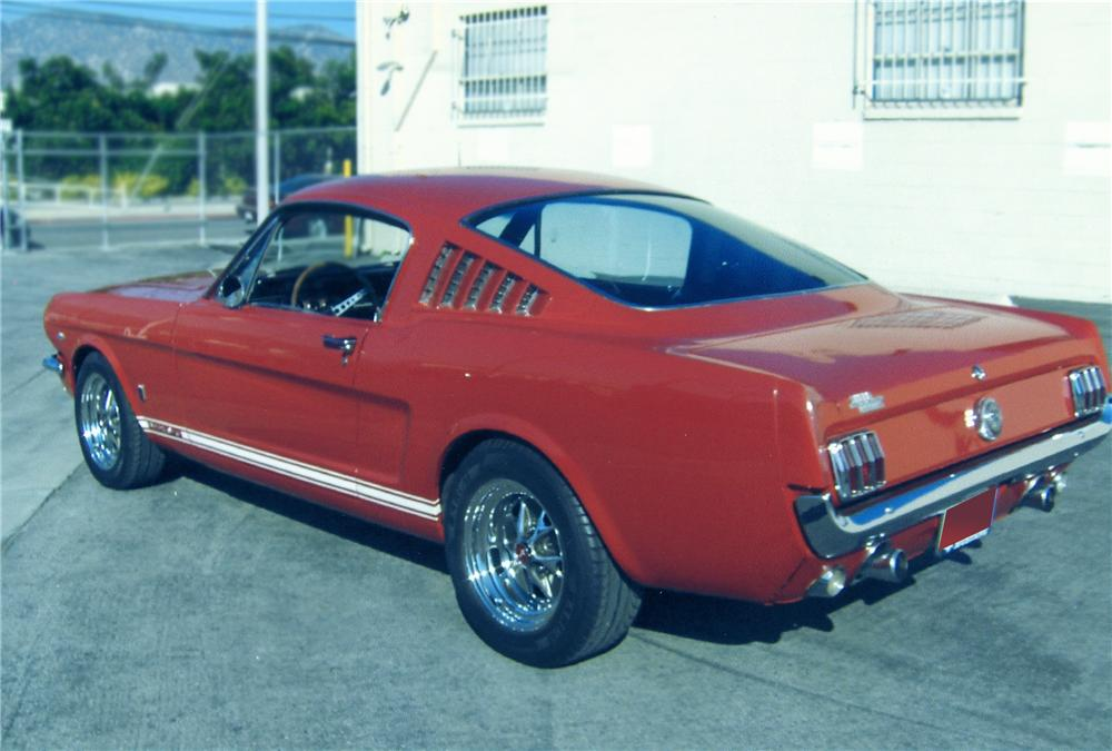 1966 FORD MUSTANG GT 2+2 FASTBACK - Rear 3/4 - 79271