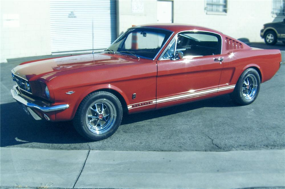 1966 FORD MUSTANG GT 2+2 FASTBACK - Side Profile - 79271