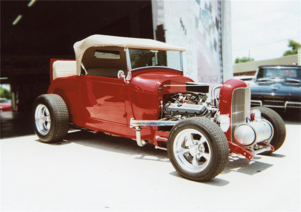 1929 FORD HI-BOY ROADSTER - Rear 3/4 - 79274