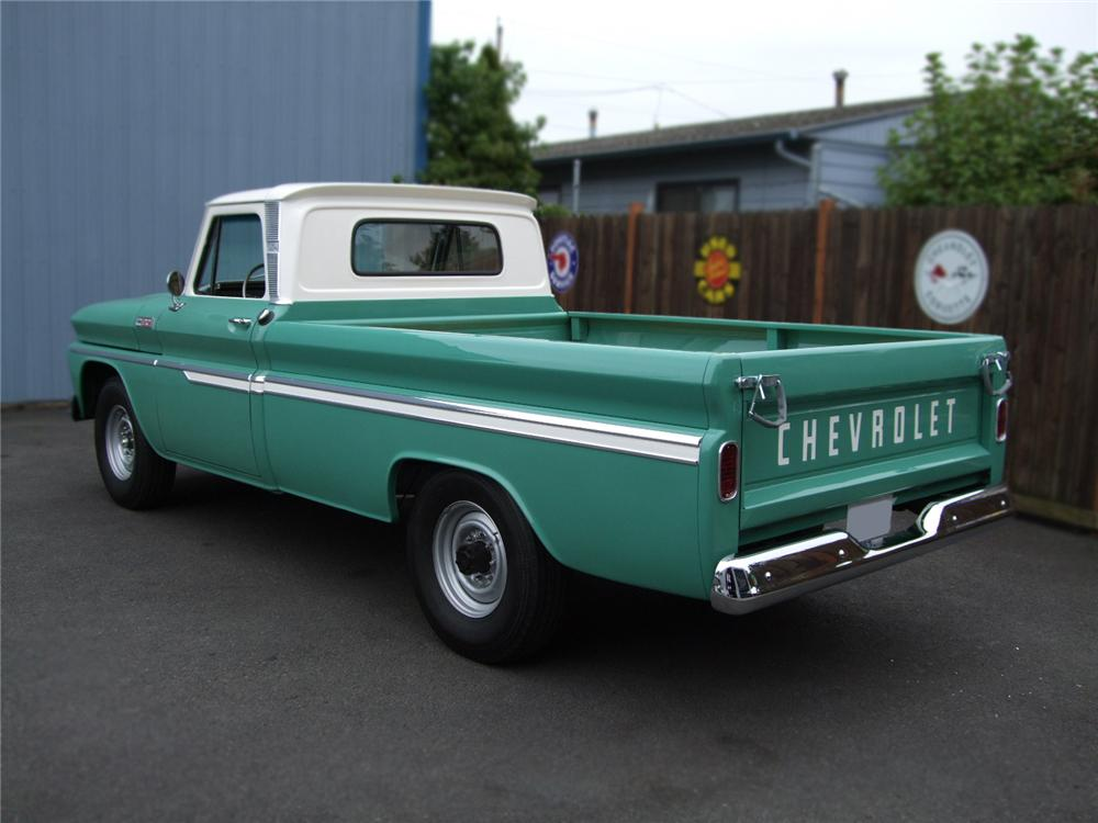 1965 CHEVROLET C-20 PICKUP - Rear 3/4 - 79276