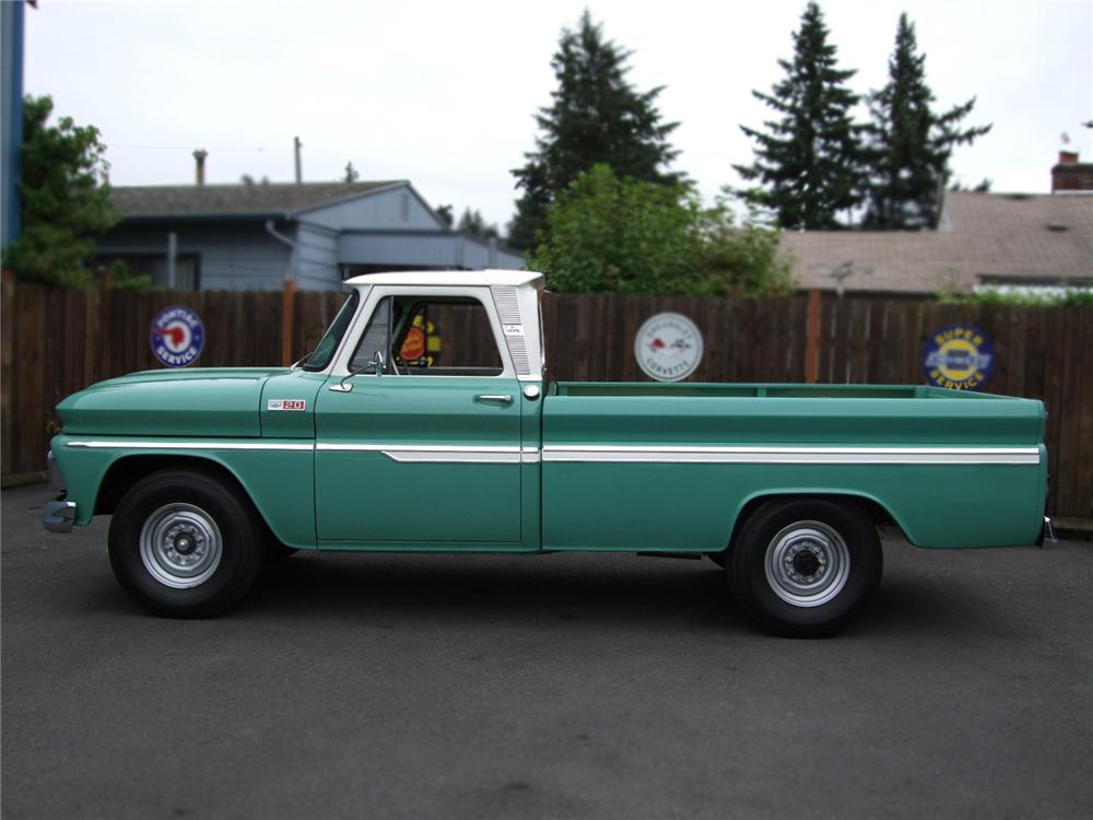 1965 CHEVROLET C-20 PICKUP - Side Profile - 79276