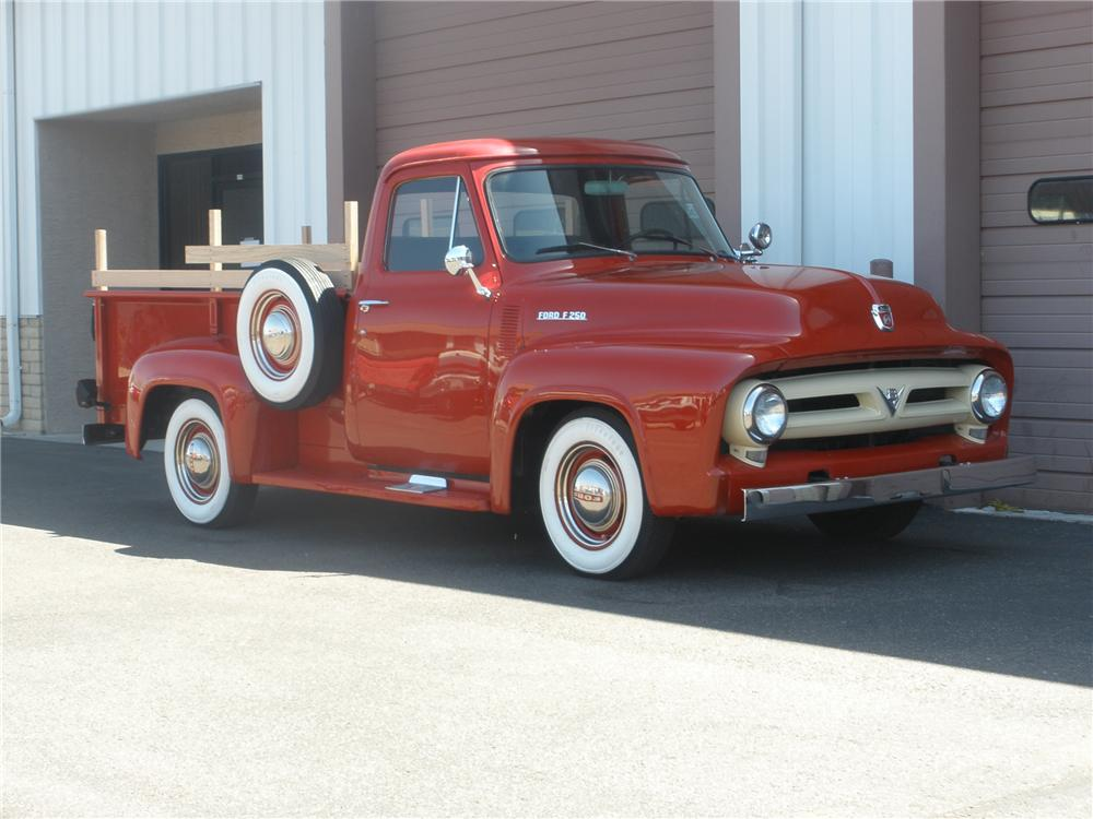 1953 FORD F-250 PICKUP - Front 3/4 - 79278