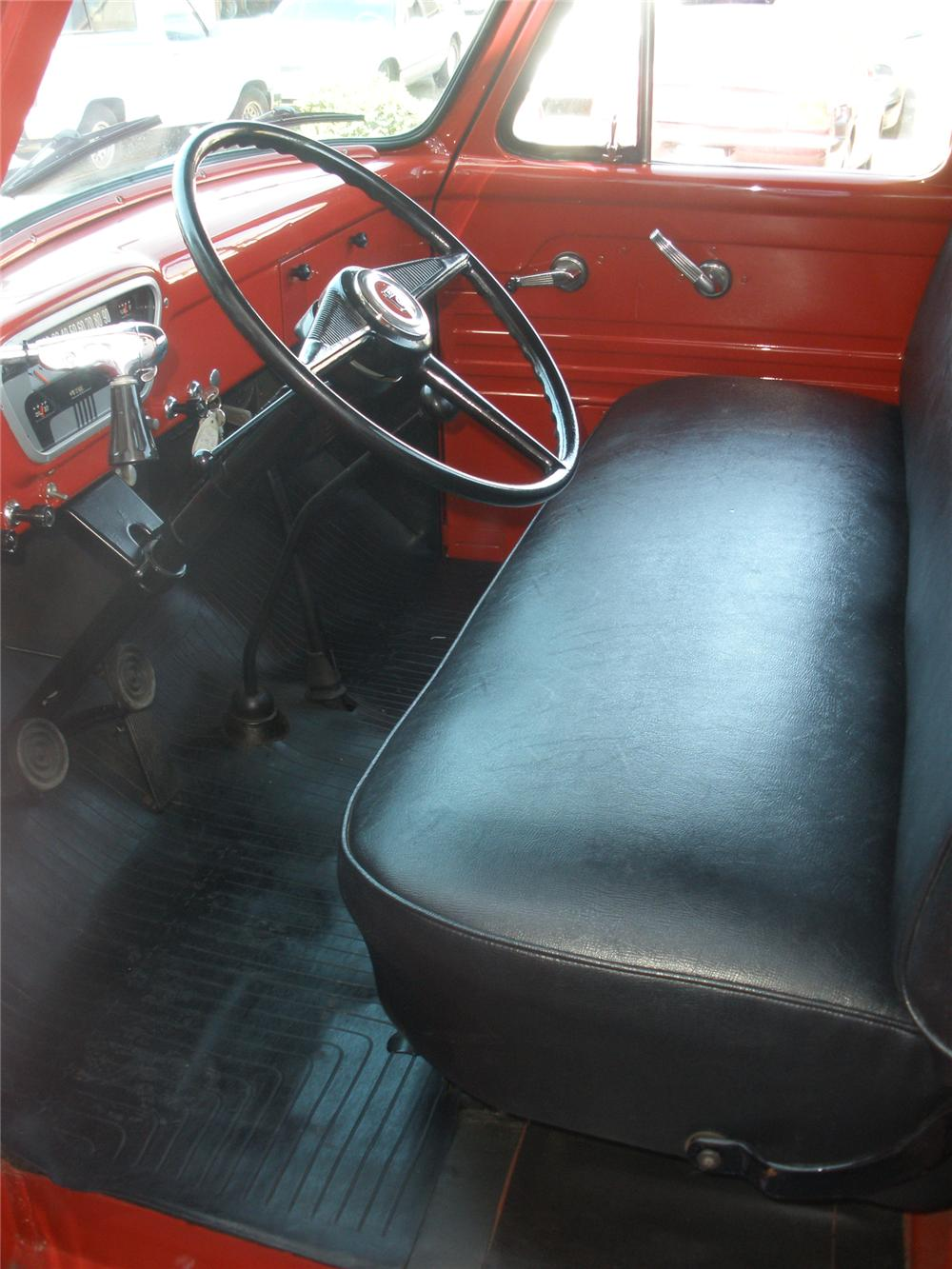 1953 FORD F-250 PICKUP - Interior - 79278
