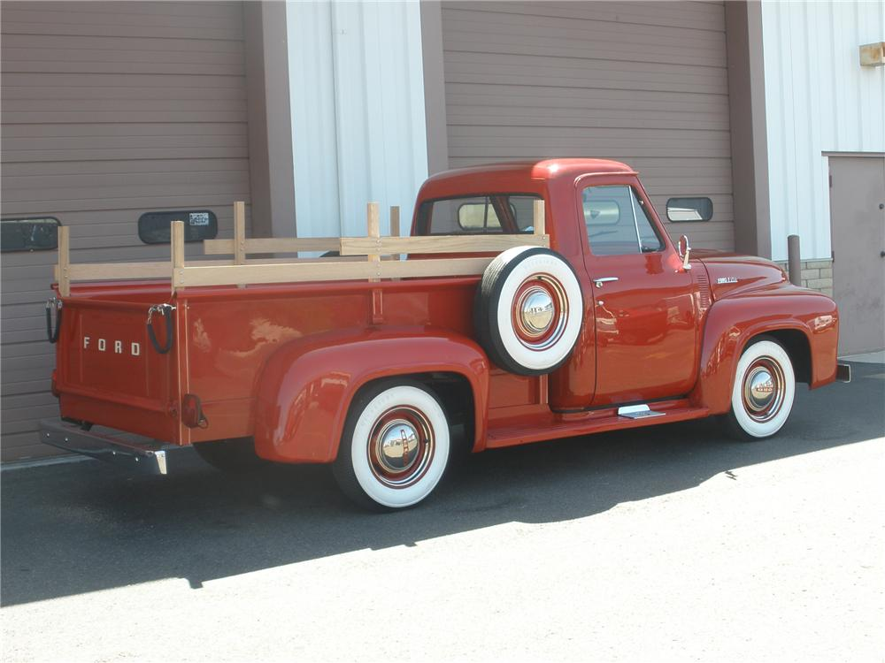 1953 FORD F-250 PICKUP - Rear 3/4 - 79278