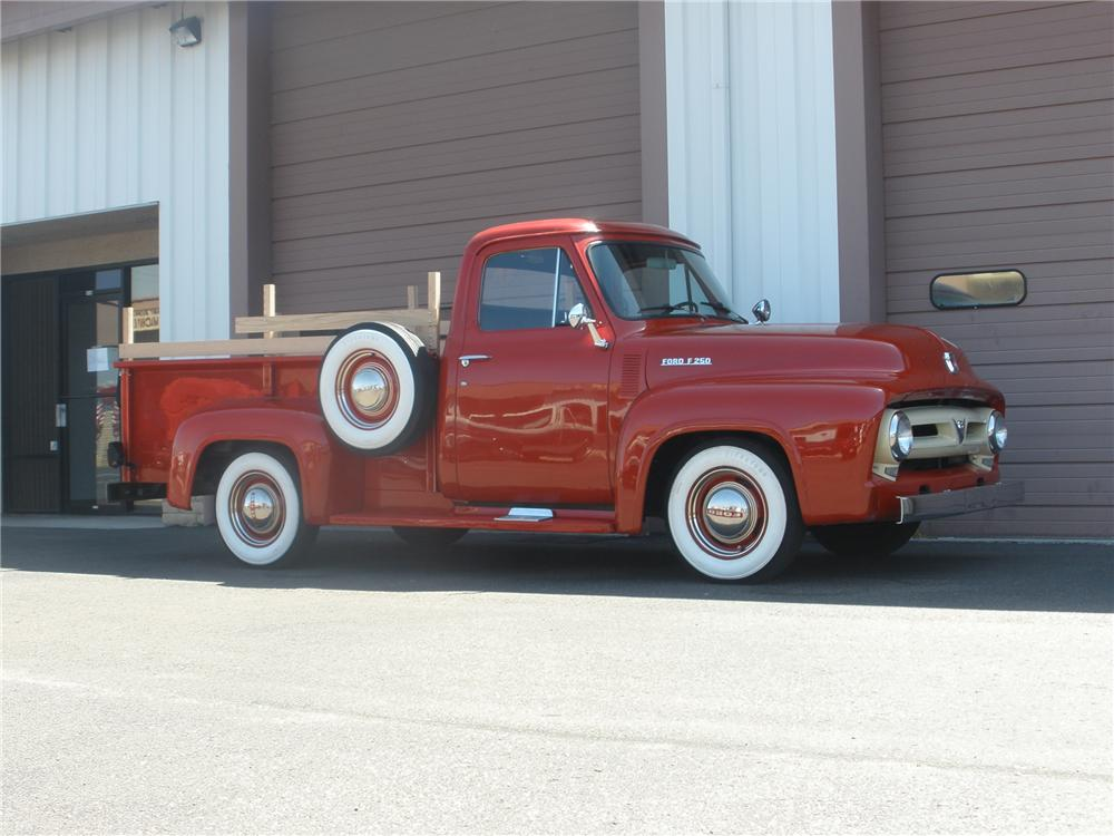 1953 FORD F-250 PICKUP - Side Profile - 79278