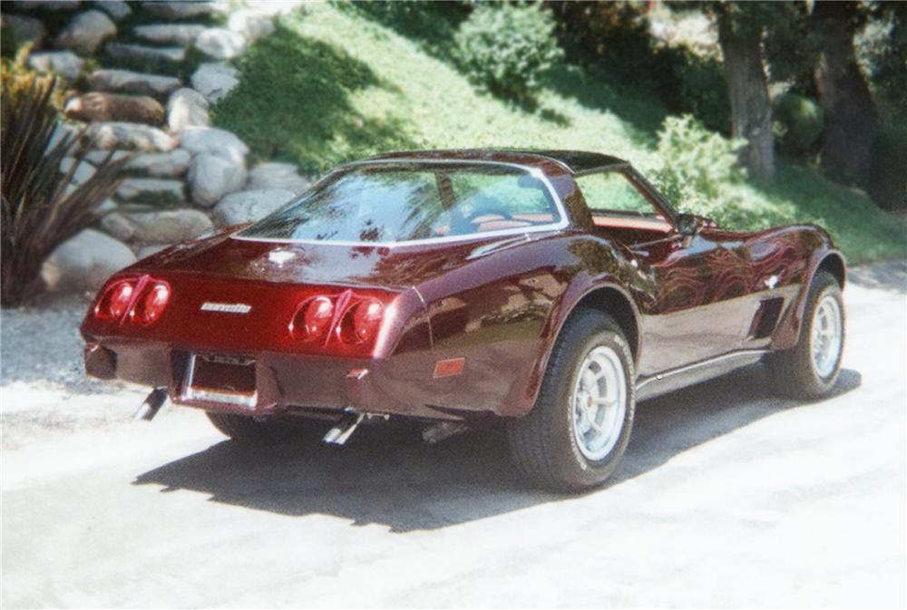 1978 CHEVROLET CORVETTE COUPE - Rear 3/4 - 79279