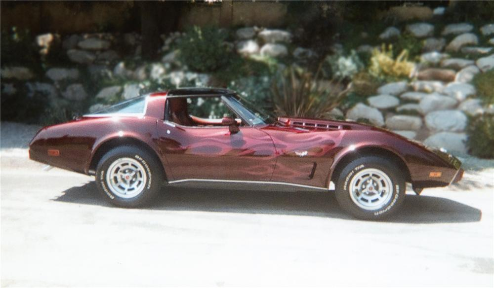 1978 CHEVROLET CORVETTE COUPE - Side Profile - 79279