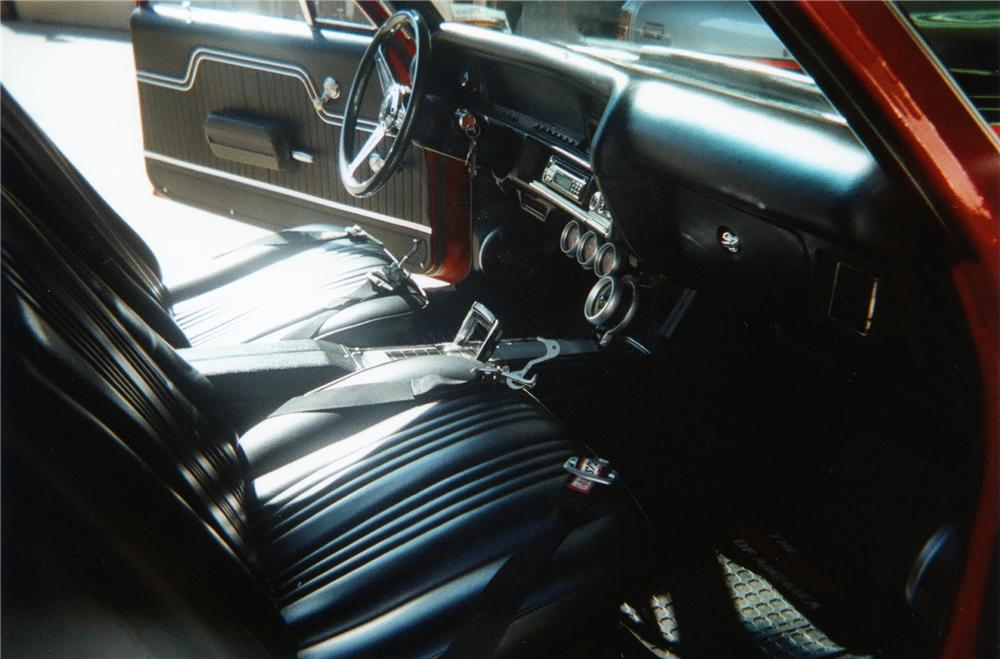 1972 CHEVROLET EL CAMINO PICKUP - Interior - 79280