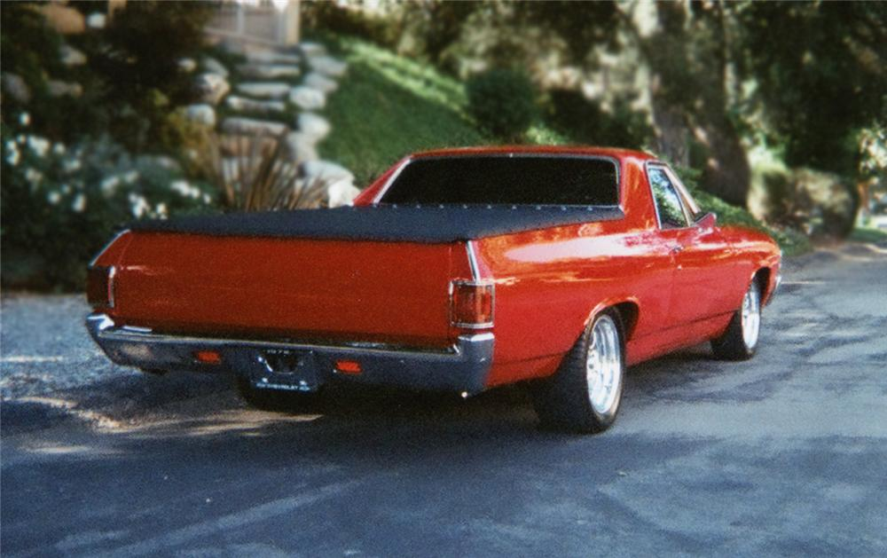1972 CHEVROLET EL CAMINO PICKUP - Rear 3/4 - 79280