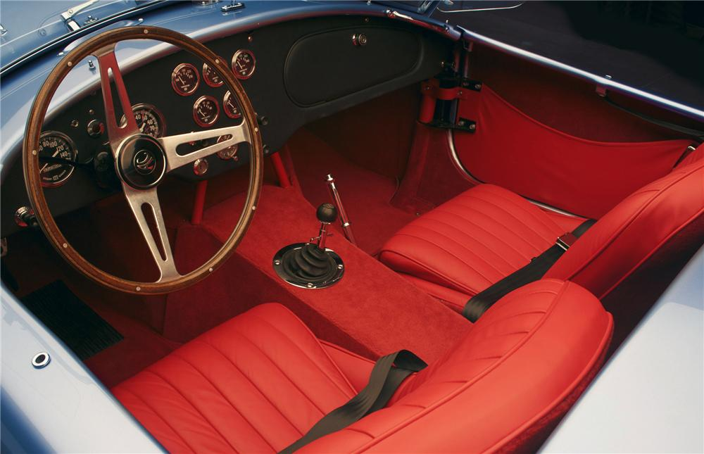 1965 SHELBY COBRA ROADSTER - Interior - 79295