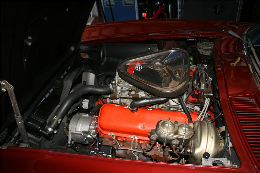 "1967 CHEVROLET CORVETTE CONVERTIBLE ""BRUCE WILLIS"" - Engine - 79518"