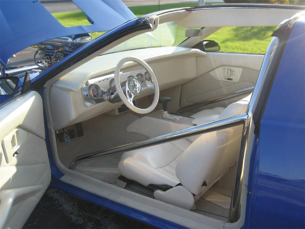 1987 PONTIAC FIREBIRD CUSTOM COUPE - Interior - 79525