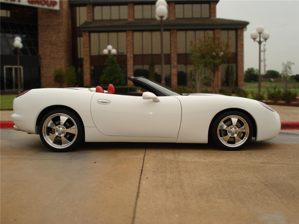 2003 CHEVROLET CORVETTE AVELATE CONVERTIBLE - Side Profile - 79529