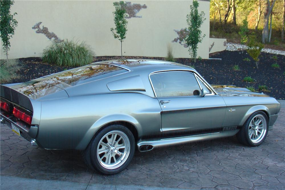 1968 FORD MUSTANG CUSTOM FASTBACK - Rear 3/4 - 79531