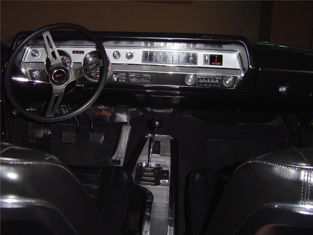 1967 OLDSMOBILE CUTLASS SUPREME CONVERTIBLE - Interior - 79533