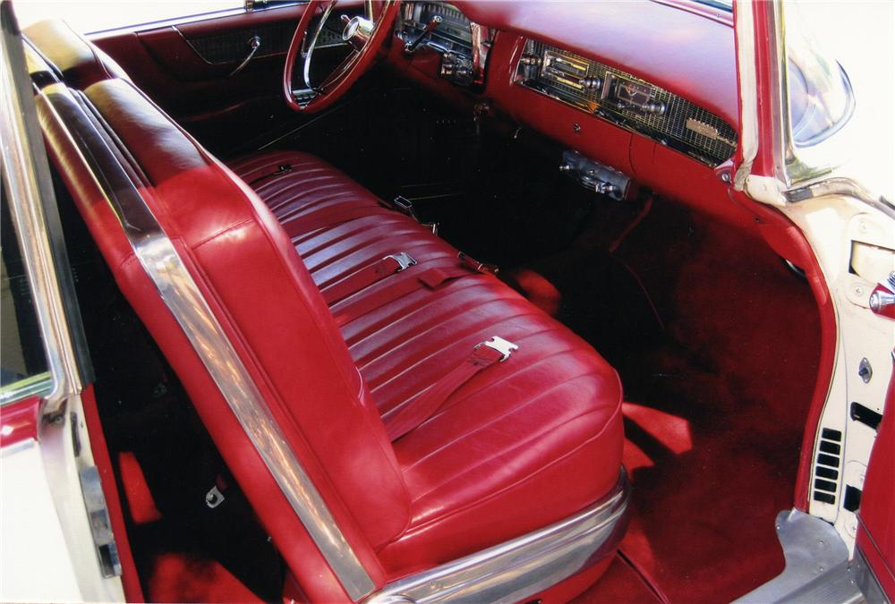 1956 CADILLAC SERIES 62 COUPE DE VILLE - Interior - 79536