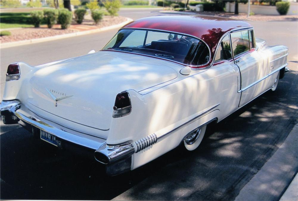 1956 CADILLAC SERIES 62 COUPE DE VILLE - Rear 3/4 - 79536