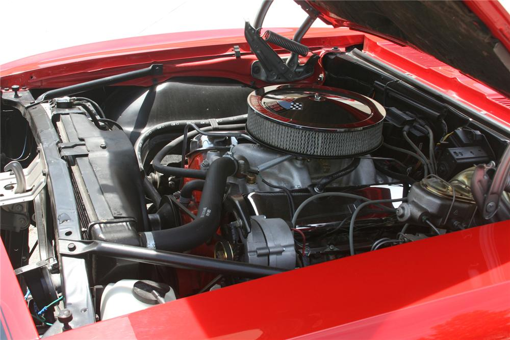 1968 CHEVROLET CAMARO SS CONVERTIBLE - Engine - 79576