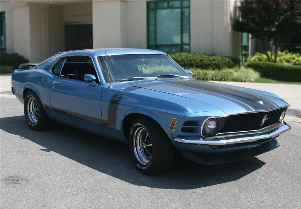 1970 FORD MUSTANG BOSS 302 FASTBACK - Front 3/4 - 79578