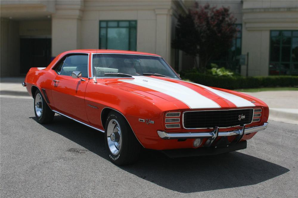 1969 CHEVROLET CAMARO Z/28 RS 2 DOOR COUPE - Front 3/4 - 79582
