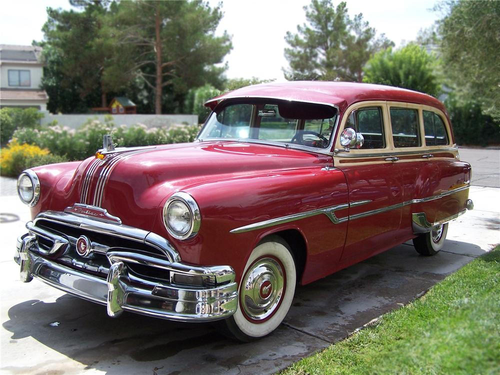 1953 PONTIAC CHIEFTAIN STATION WAGON  79587