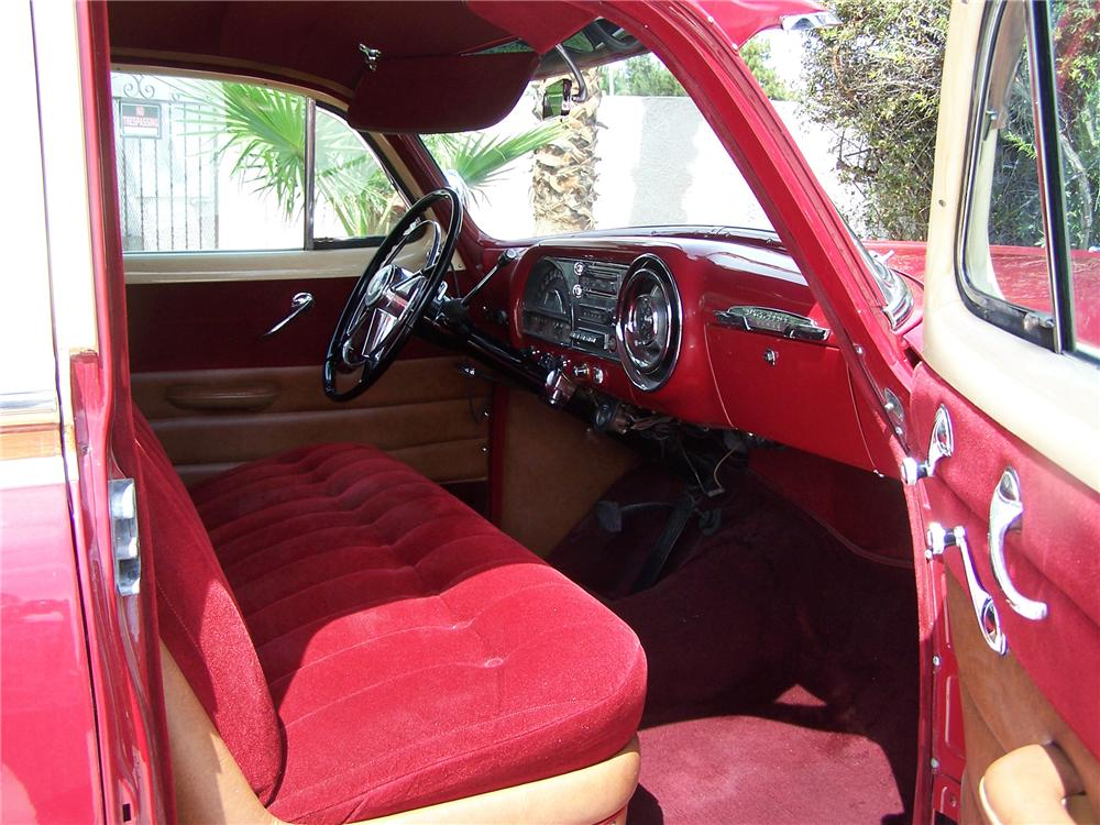 1953 PONTIAC CHIEFTAIN STATION WAGON - Interior - 79587