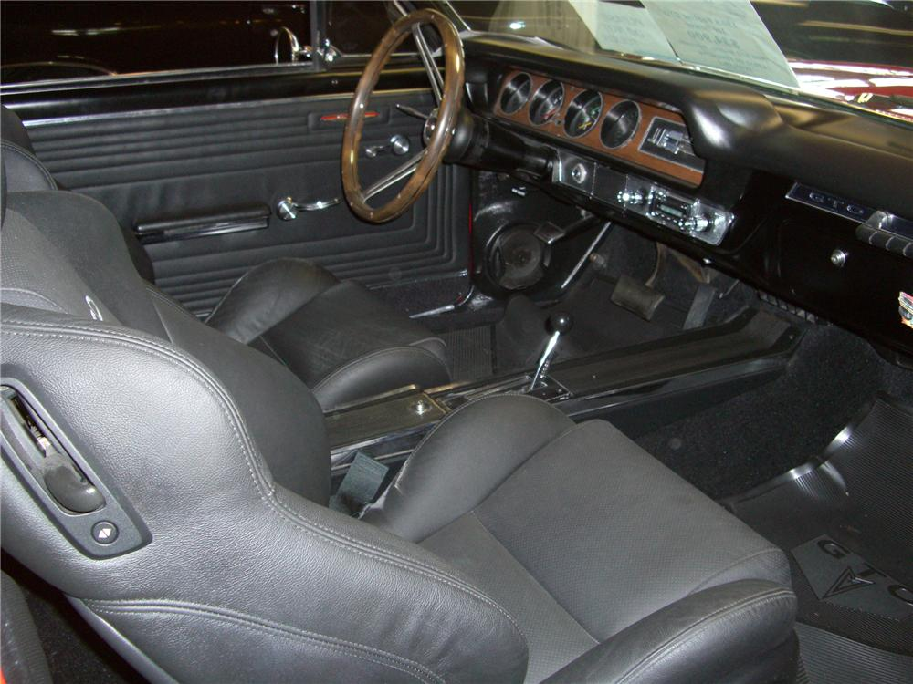 1965 PONTIAC GTO CUSTOM COUPE - Interior - 79593