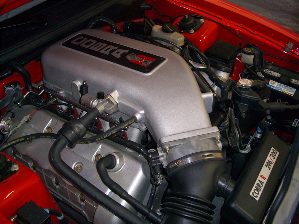 "2000 FORD MUSTANG COBRA ""R"" COUPE - Engine - 79595"