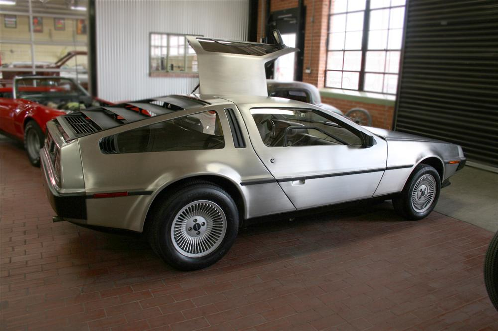 1981 DELOREAN GULLWING COUPE - Side Profile - 79600